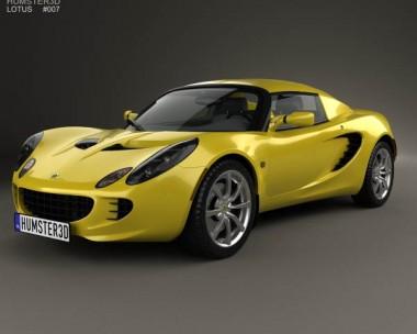 3D model of Lotus Elise 2002