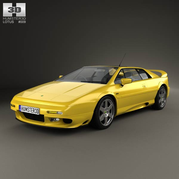 3D model of Lotus Esprit 1996