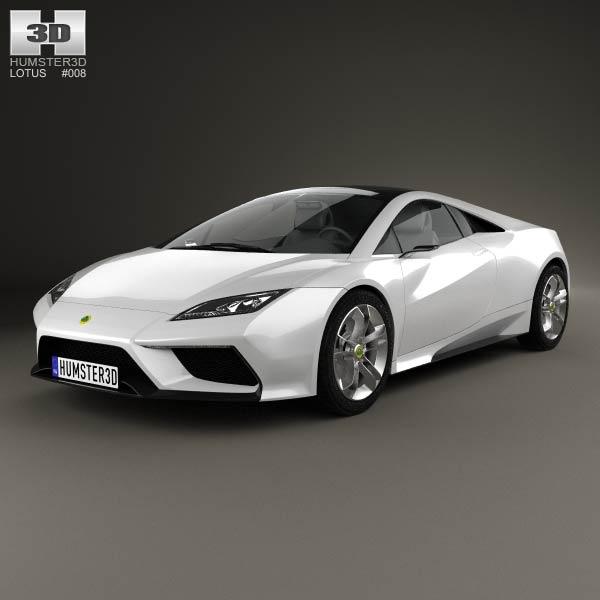 3D model of Lotus Esprit 2010
