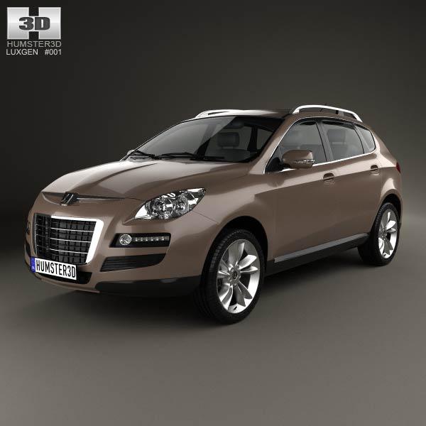 3D model of Luxgen 7 SUV 2010