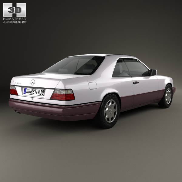 Mercedes-Benz E-class coupe 1993 3d model