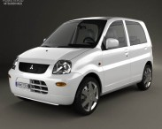 3D model of Mitsubishi Minica 5-door 2011