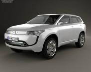 3D model of Mitsubishi PX-MiEV 2009