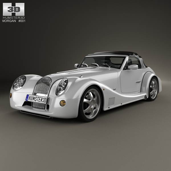 Morgan Aero 8 2012 3d car model