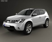 3D model of Nissan Murano (Z50) 2007