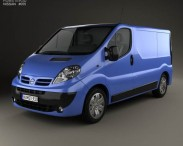 3D model of Nissan Primastar Panel Van 2006