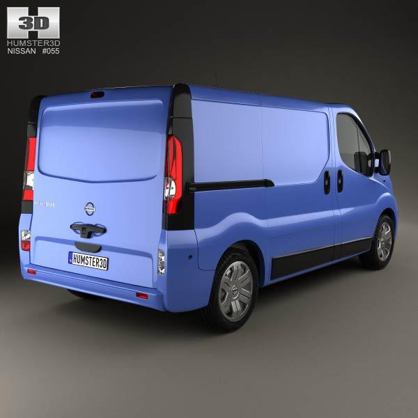 Nissan Primastar Panel Van 2006 3d model