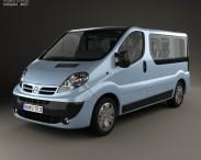 3D model of Nissan Primastar Passenger Van 2006