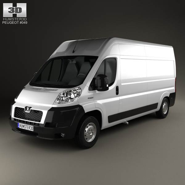 Peugeot Boxer Panel Van 2007 3d car model