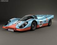 3D model of Porsche 917 K 1969