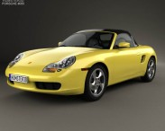 3D model of Porsche Boxster 986 1996