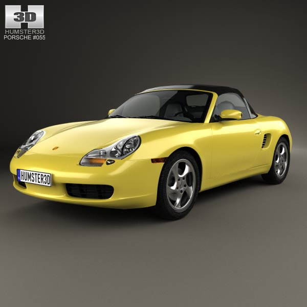 3D model of Porsche Boxster 986 1996