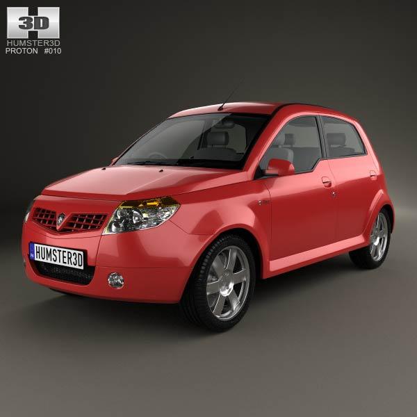 Proton Savvy 2011 3d model