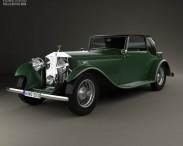 3D model of Rolls-Royce Phantom II Continental 1933