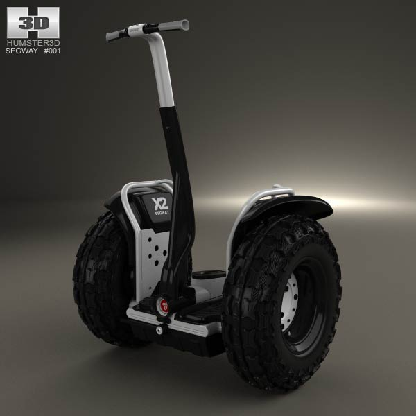 Segway 2X Adventure 2012 3d car model
