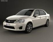 3D model of Toyota Corolla Axio 2012