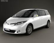 3D model of Toyota Previa 2013