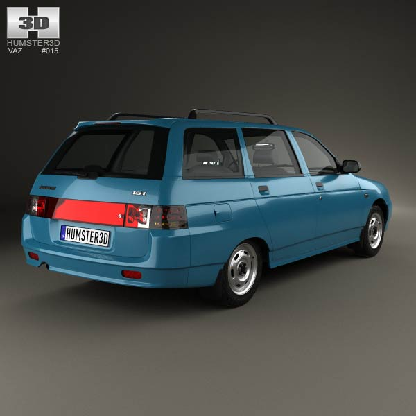 VAZ Lada 2111 wagon 1995 3d model