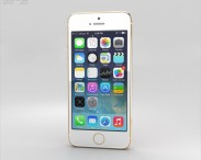 3D model of Apple iPhone 5S Gold