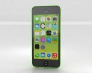 3D model of Apple iPhone 5C Green