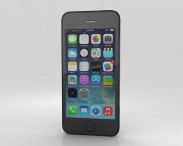 3D model of Apple iPhone 5S Space Gray (Black)