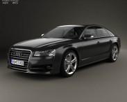 3D model of Audi S8 (D4) 2014
