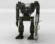 3D model of Avatar Power Suit