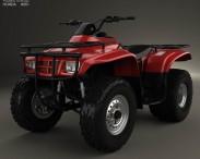 3D model of Honda FourTrax Recon 2001