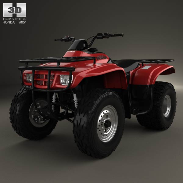 Honda FourTrax Recon 2001 3d car model