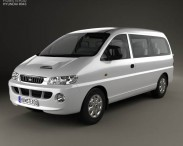 3D model of Hyundai H-1 Passenger Van 1997