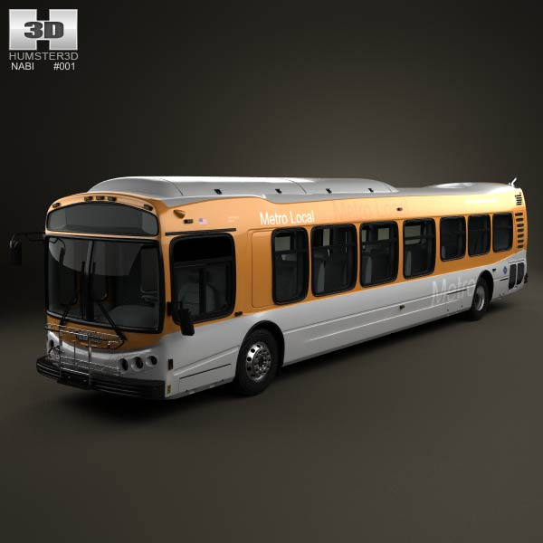 NABI CompoBus C 45 2013 3d car model