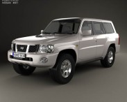 3D model of Nissan Patrol (Y61) 2004
