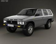 3D model of Nissan Terrano (Pathfinder) 1993