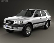 3D model of Opel Frontera (B) 1998