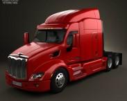 3D model of Peterbilt 579 Tractor Truck 2012
