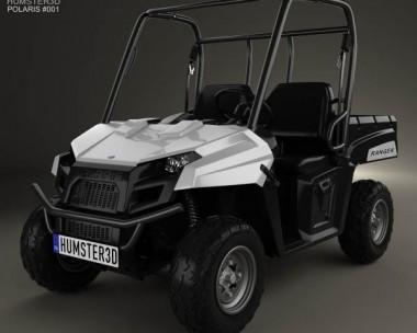 3D model of Polaris Ranger 2013