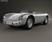 3D model of Porsche 550 spyder 1953