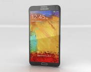 3D model of Samsung Galaxy Note 3 Black