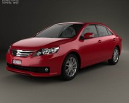 3D model of Toyota Allion (T260) 2010