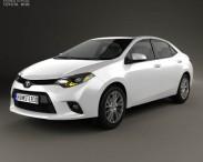 3D model of Toyota Corolla LE Eco US 2013
