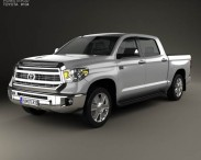 3D model of Toyota Tundra Crew Max 2013