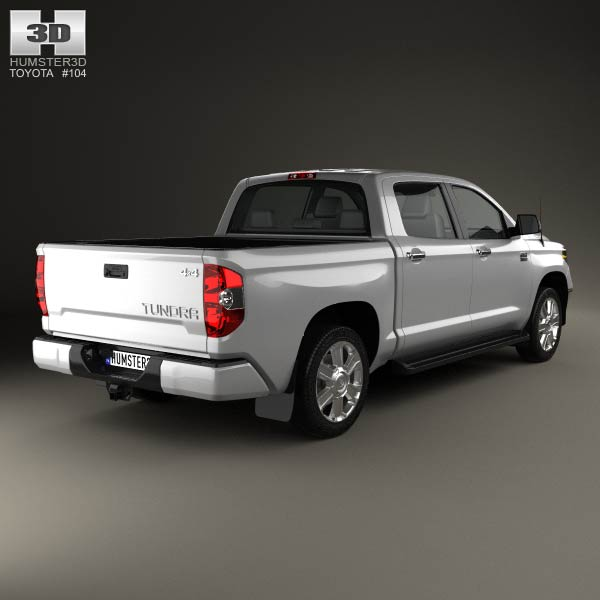 toyota tundra crew max 2013 3d model humster3d. Black Bedroom Furniture Sets. Home Design Ideas