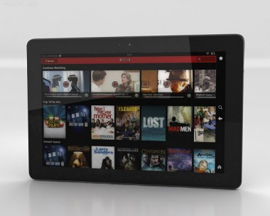 3D model of Amazon Kindle Fire HDX 8.9 inches
