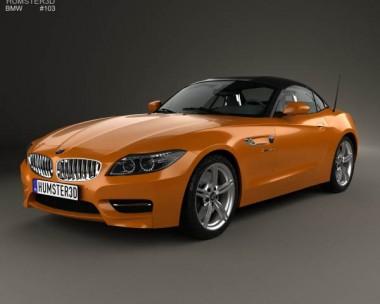 3D model of BMW Z4 (E89) roadster 2013