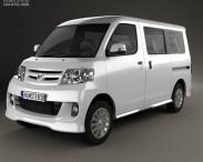 3D model of Daihatsu Luxio 2013