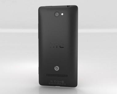 3D model of HTC Windows Phone 8X Graphite Black