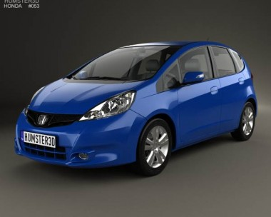 3D model of Honda Jazz 2010