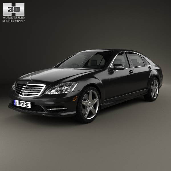 Mercedes benz s class w221 with hq interior 2013 3d for Mercedes benz w221 price