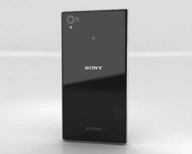 3D model of Sony Xperia Z1