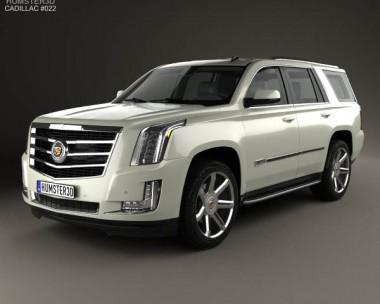 3D model of Cadillac Escalade 2015
